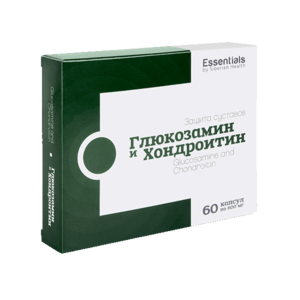 Глюкозамин и Хондроитин - Essentials, 60 капсул